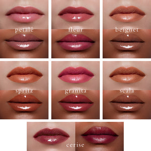 Paris Edit Moisture Boost Oil Lip Shine Collection