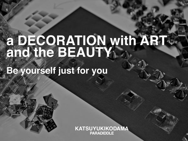 a DECORATION with ART and the BEAUTY/ MISSION-1