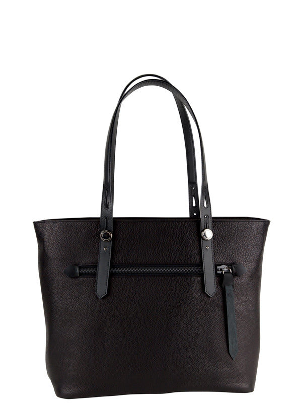 ENIGMA VARIATIONS / COW LEATHER TOTE