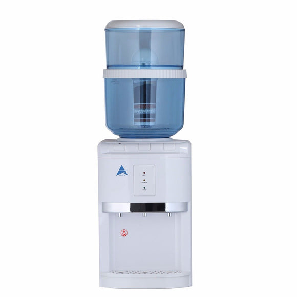 Aimex White Counter Top Water Cooler Dispenser with 8 Stage Filter Cartridge - Mari Australia