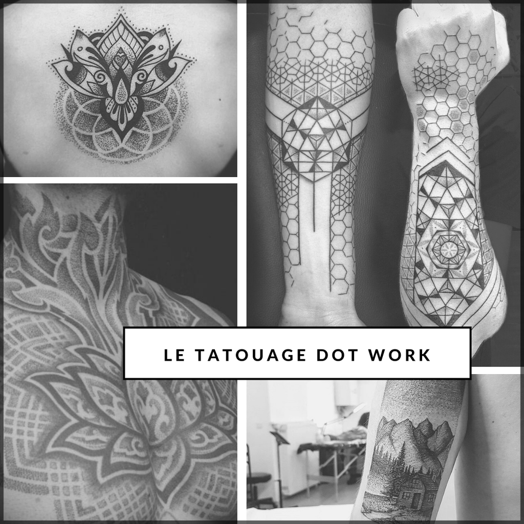 Le tatouage Dotwork