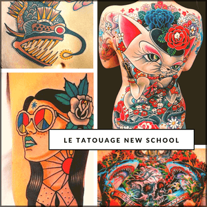 Le tatouage New School