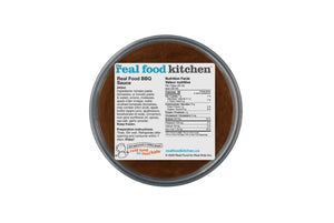 Real Food BBQ Barbeque Sauce Frozen Package