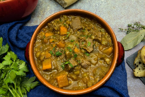 Ontario Beef and Barley Stew Soup