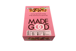 MadeGood Strawberry Organic Granola Bars