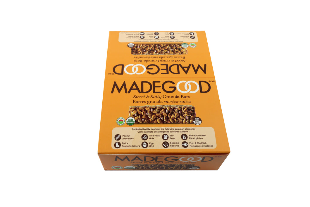 MadeGood Organic Sweet & Salty Bars