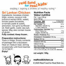 Load image into Gallery viewer, Sri Lankan Chicken Label 190