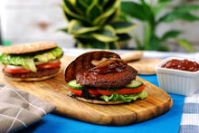 Load image into Gallery viewer, VG Meats Beef Mushroom Burger