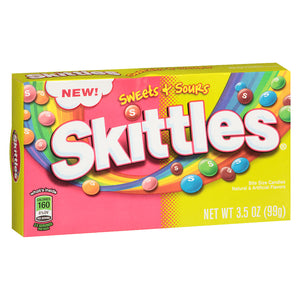 Skittles Sweet & Sours Theatre Box 99g
