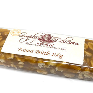 Beehive Peanut Brittle Bar