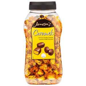 Jamesons Chocolate Caramels 1.5kg Jar