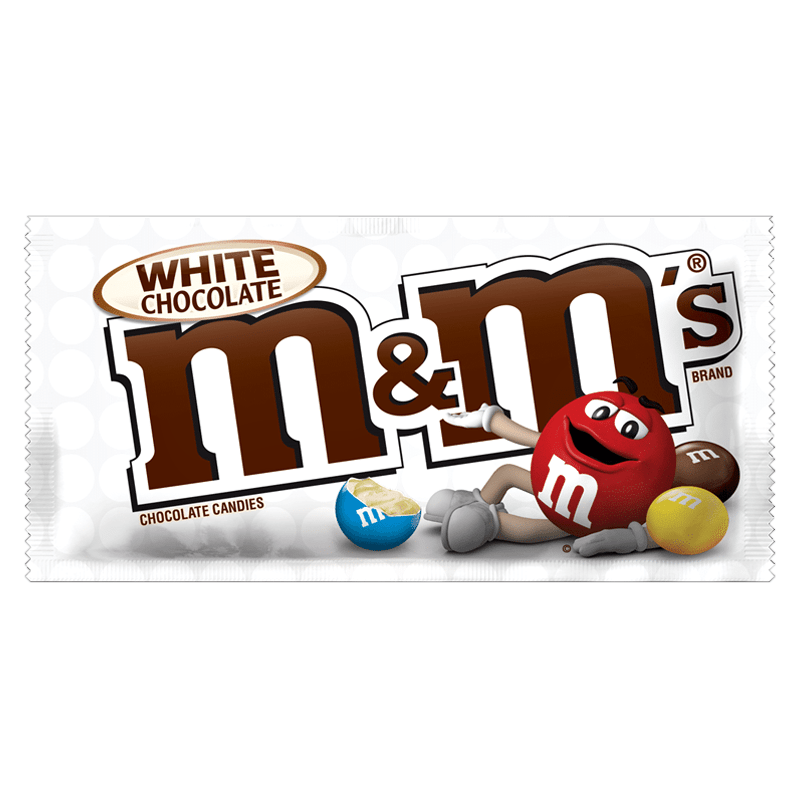 M&M's White Chocolate 1.5oz ( NEW )