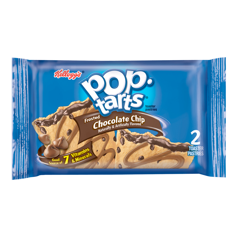 Pop Tarts Frosted Chocolate Chip Twin Pack  3.67oz