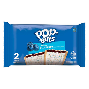 Pop Tarts Frosted Blueberry Twin Pack  3.3oz