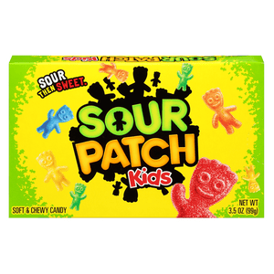 Sour Patch Kids Original 3.5oz Theatre Box (99g)