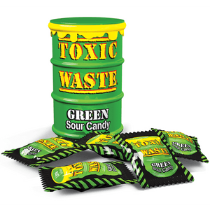 Toxic Waste Extreme Sour Candy GREEN