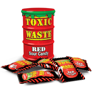 Toxic Waste Extreme Sour Candy RED