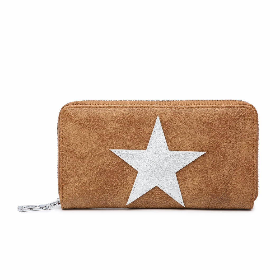 Purse Star Brown