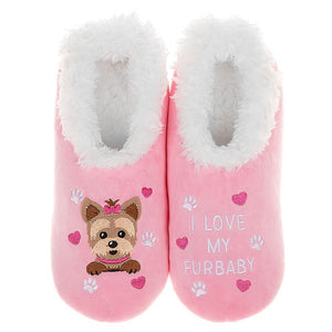 Snoozies Slippers Fur Baby