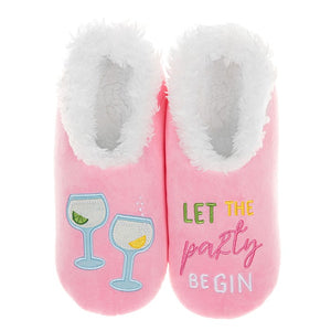 Snoozies Slippers Party Be Gin