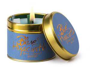 LilyFlame Candle Blue Hyacinth