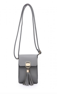 Phone purse Collette - Grey