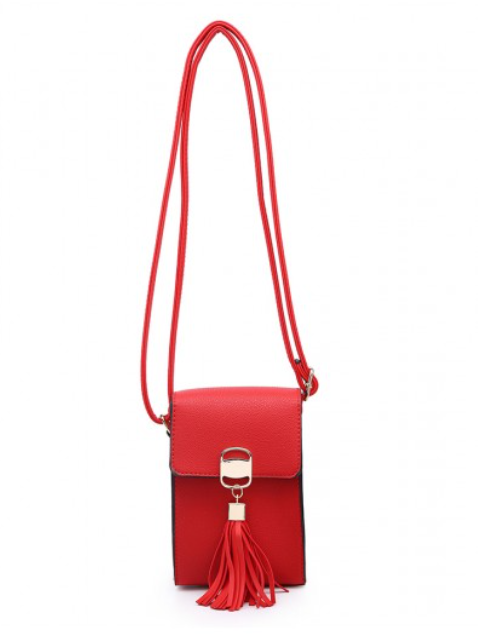 Phone purse Collette - Red