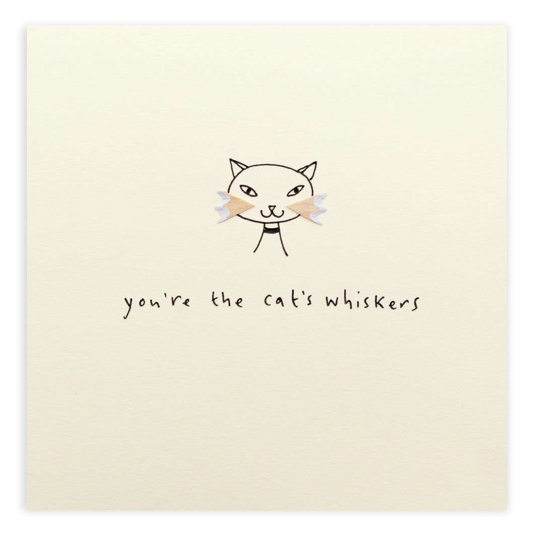Card Cat's Whiskers