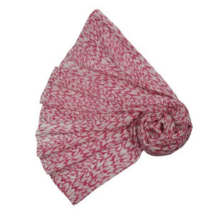 Scarf Hearts Pink