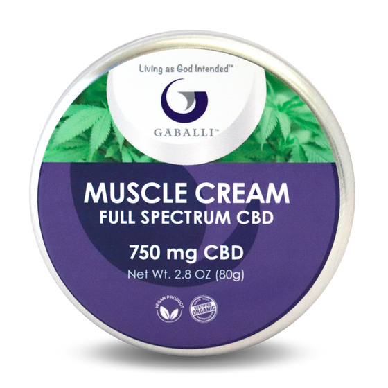 Muscle Cream 750mg 2.8oz