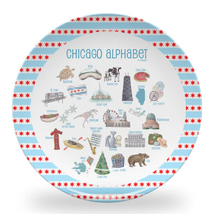 "Chicago Alphabet 10"" Thermosaf Polymer Plate"