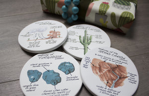 Arizona Anatomy Coaster Set