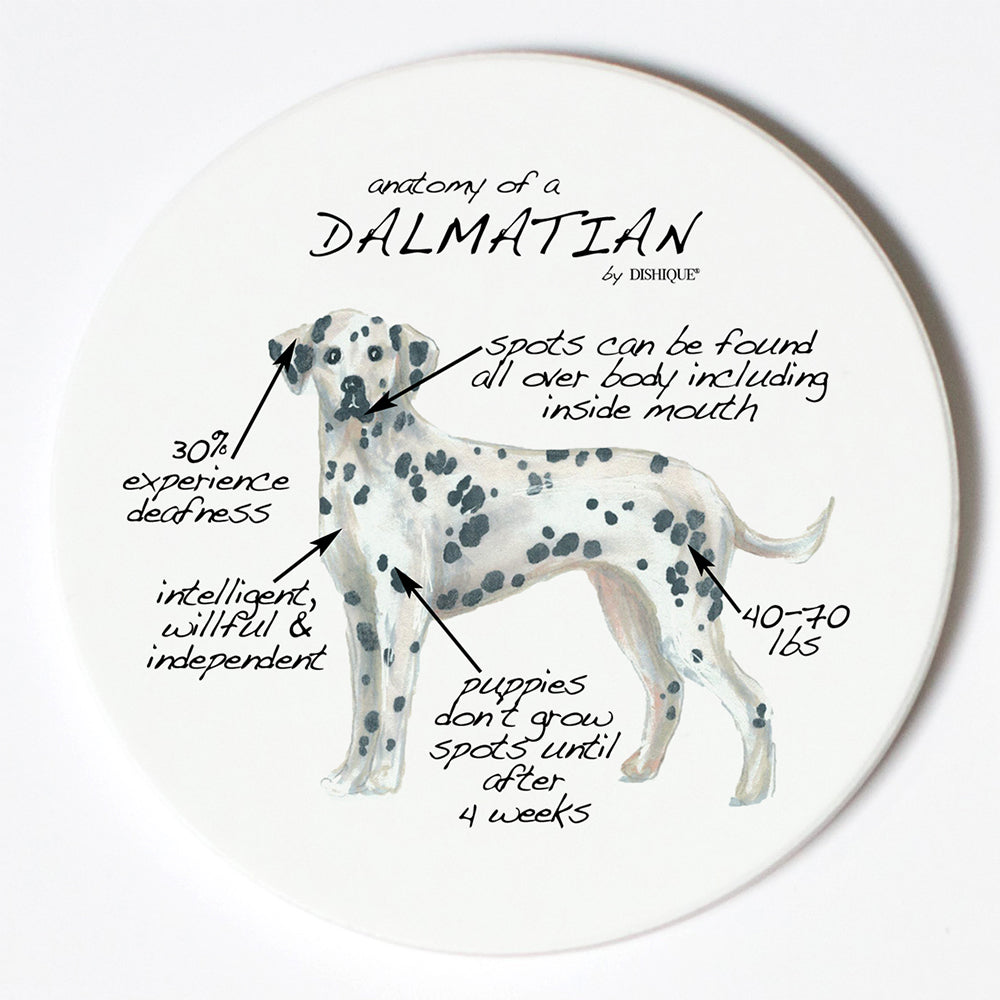 Individual Coaster - Dog Breed Gifts - Dalmatian