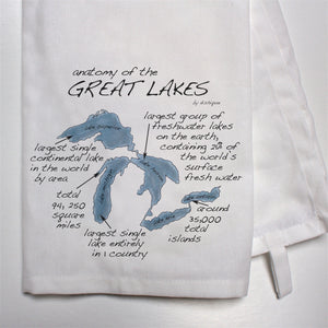Anatomy of the Great Lakes Dish Towel