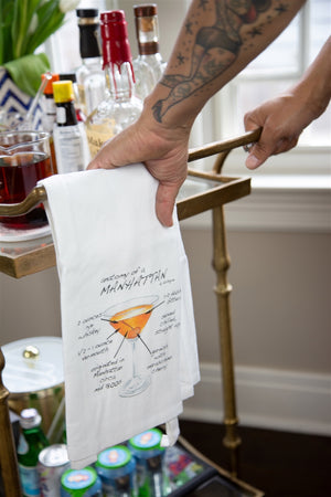 Anatomy of a Manhattan Dish Towel