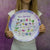 "Fairy Alphabet 10"" Thermosaf Plastic Plate"
