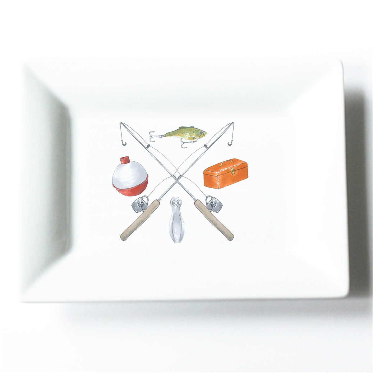 Fishing Crest Mini Dish