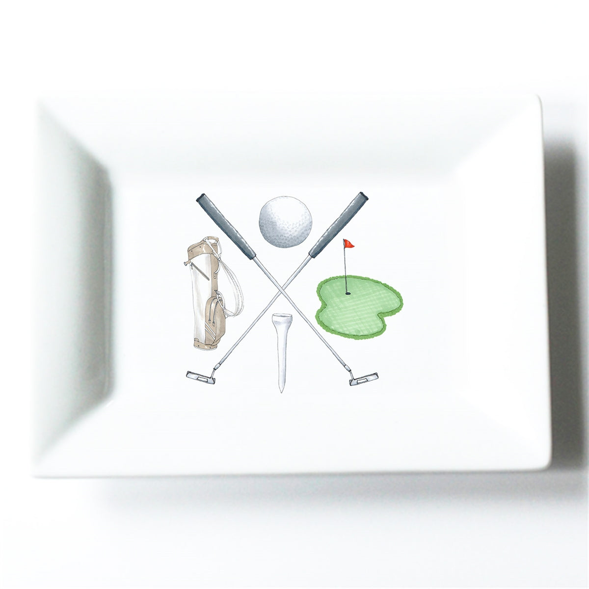 Golf Crest Mini Dish