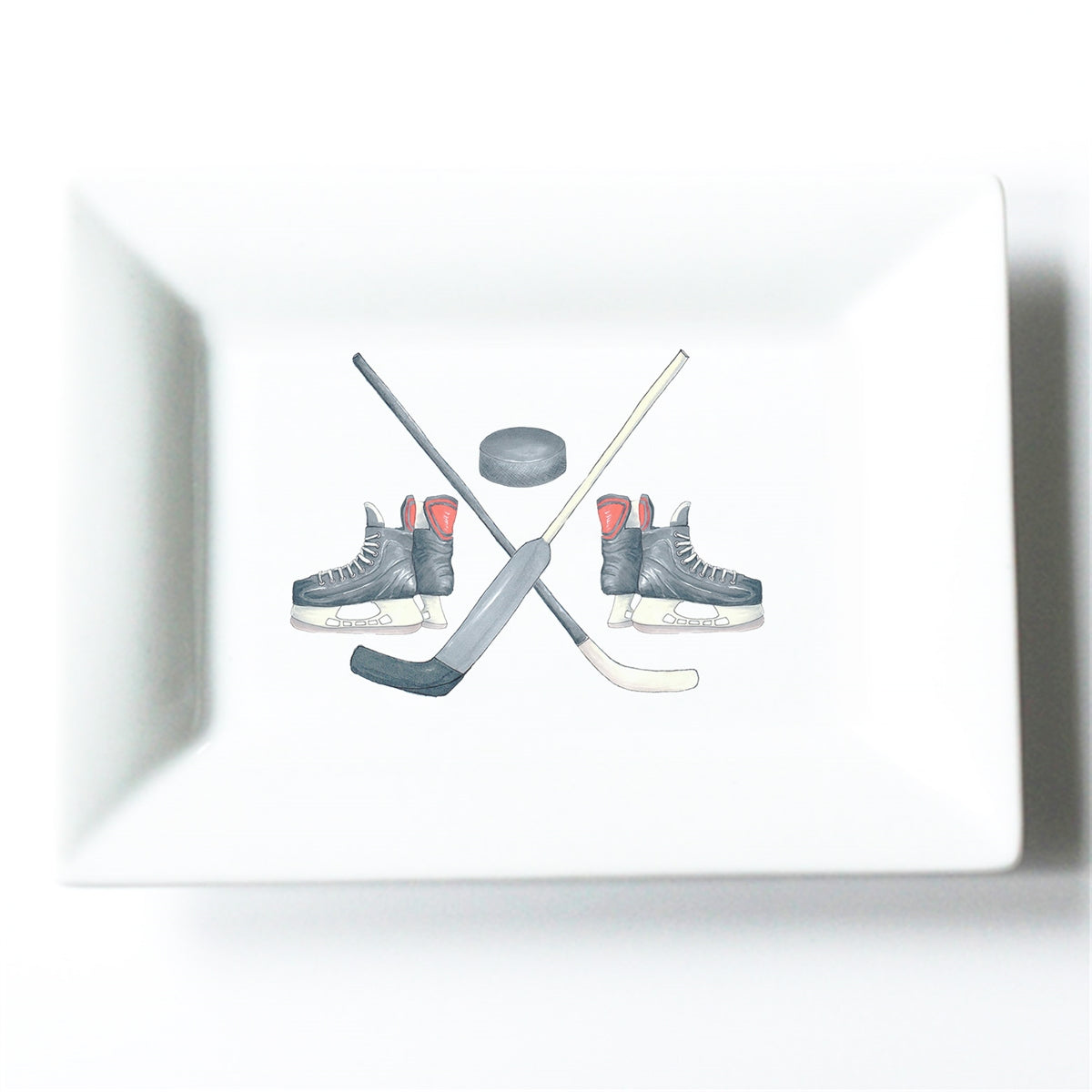 Hockey Crest Mini Dish