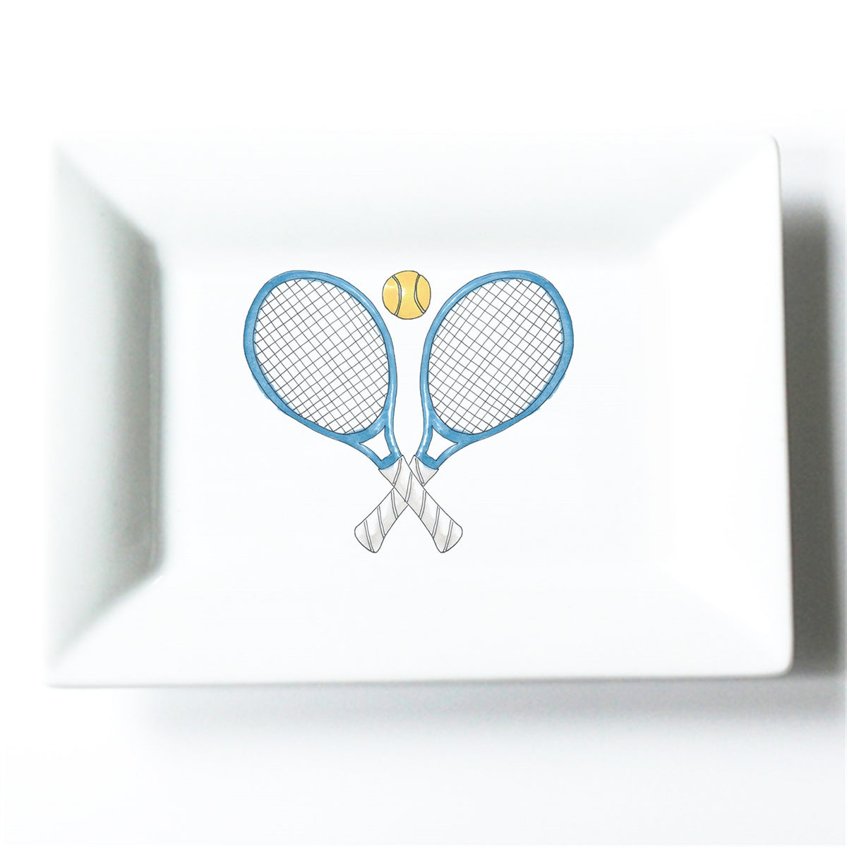Tennis Crest Mini Dish