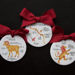 Aries Holiday Ornament