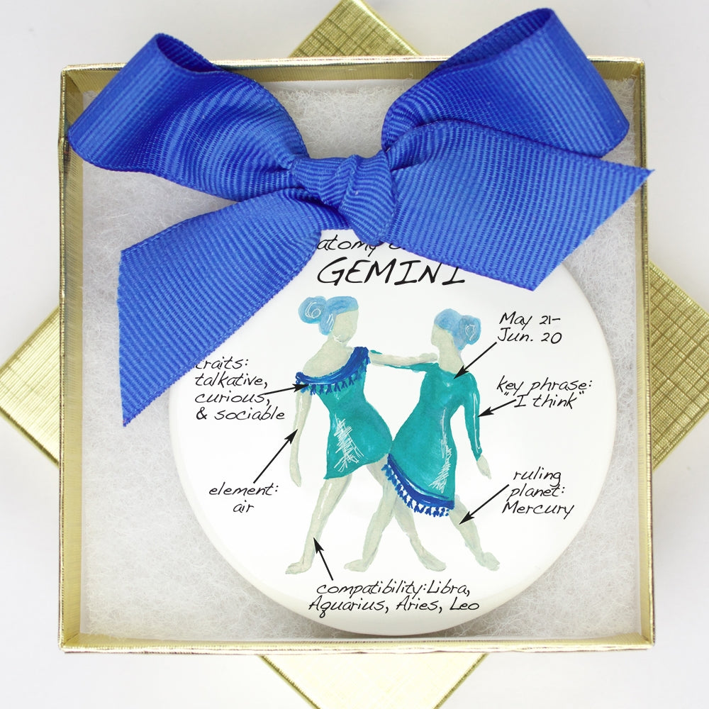 Gemini Holiday Ornament