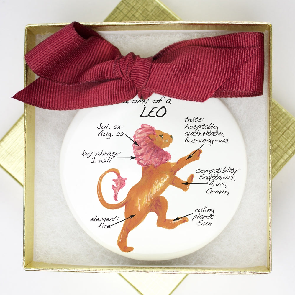 Leo  Holiday Ornament