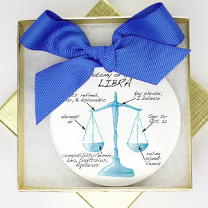 Libra Holiday Ornament