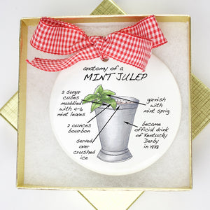 Mint Julep Holiday Ornament