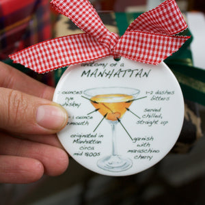 Manhattan Holiday Ornament