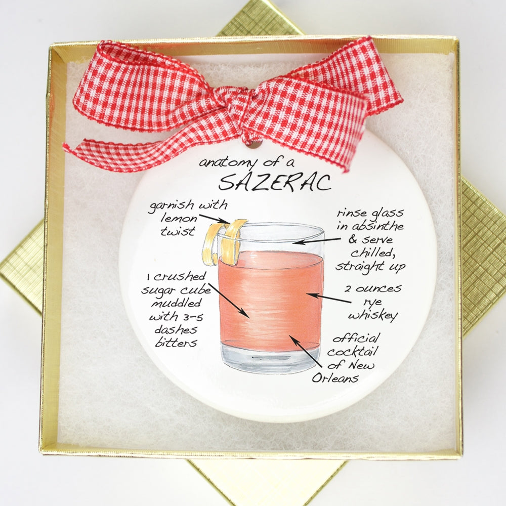 Sazerac Holiday Ornament