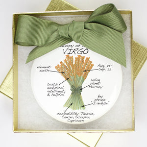 Virgo Holiday Ornament