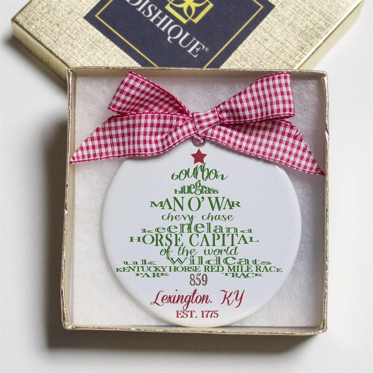 Lexington, Kentucky Holiday Ornament