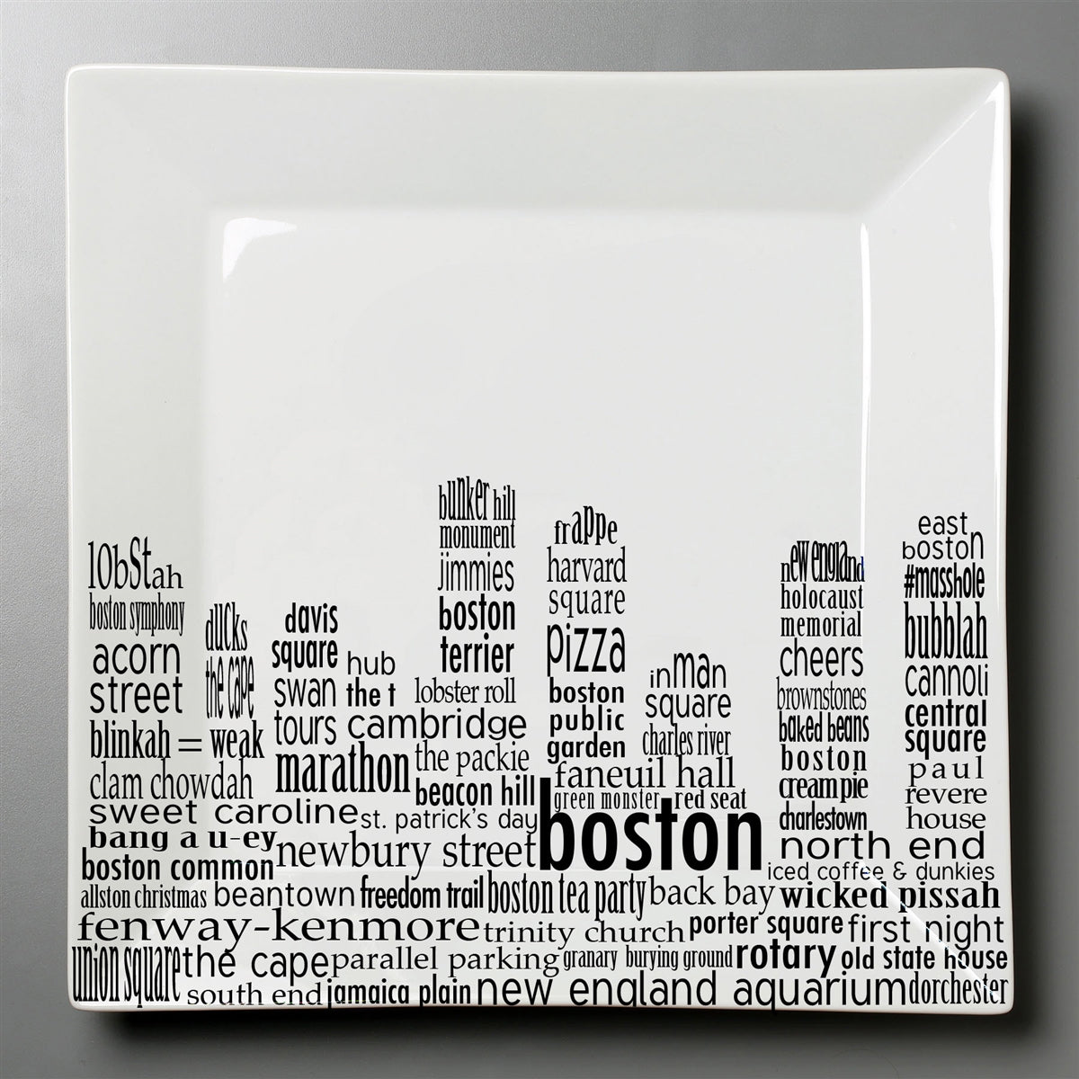 Boston - Small Square Plate